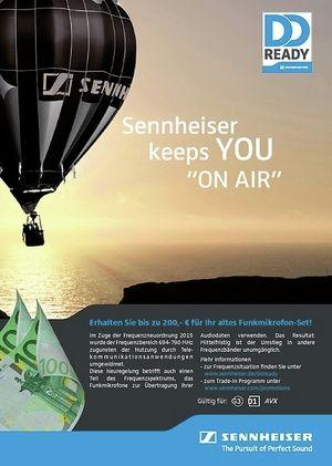Sennheiser Trade In Aktion