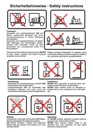Safety instructions