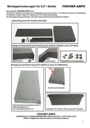 Rack-Montageanleitung