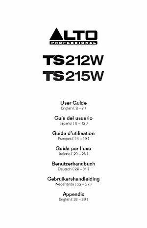 Manuale d'uso
