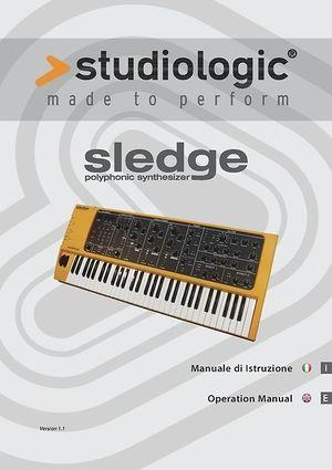 Manuale d'uso: Sledge