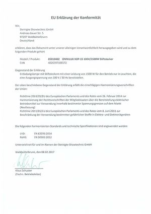 CE-Certifkate