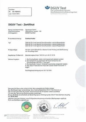 DGUV Test