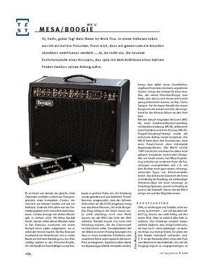 Gitarre & Bass Mesa/Boogie MK V, E-Gitarren-Combo