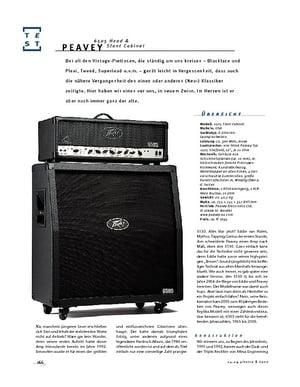 Gitarre & Bass Peavey 6505 H & Slant Cabinet