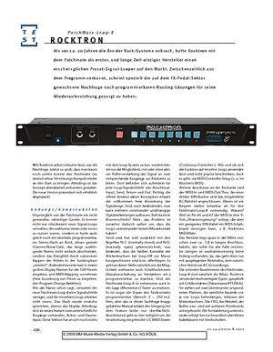 Gitarre & Bass Rocktron PatchMate-Loop-8, NF-Signal-Looper