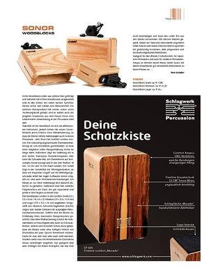 Sticks Sonor Woodblocks
