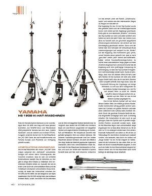 Sticks Yamaha HS1200 Hi-Hat-Maschinen