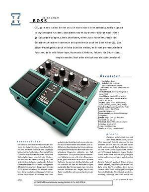 Gitarre & Bass Boss SL-20 Slicer, Effekt-Pedal
