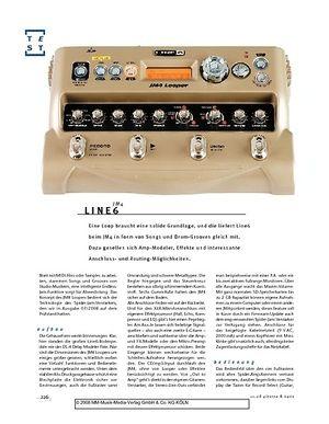 Gitarre & Bass Line6 JM4 Looper