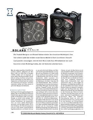 Gitarre & Bass Roland Micro Cube, Bass-/Gitarren-Verstärker