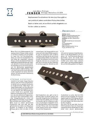 Fender Noiseless Jazz Tonabnehmer Set – Musikhaus Thomann