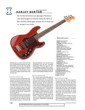 Gitarre & Bass Harley Benton Hot Rod Bass, E-Bass