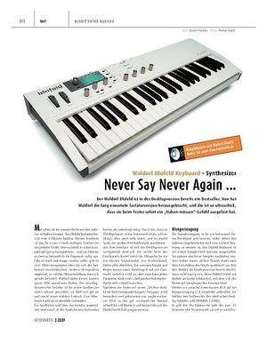 Keyboards Waldorf Blofeld Keyboard - Synthesizer