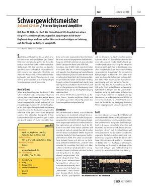 Keyboards Roland KC-880 - Stereo Keyboard Amplifier