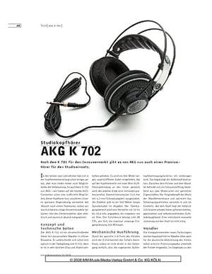 Sound & Recording AKG K 702