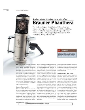 Sound & Recording Brauner Phanthera