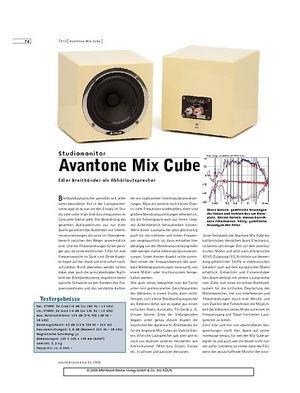 Sound & Recording Avantone Mix Cube