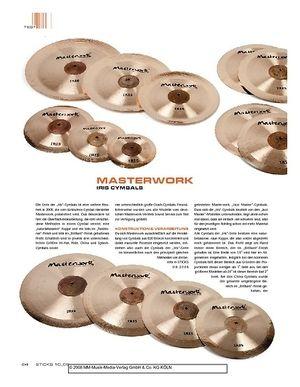 Sticks Masterwork Iris Cymbals