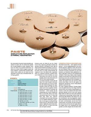 Sticks Paiste Signature Reflector Cymbal-Neuheiten