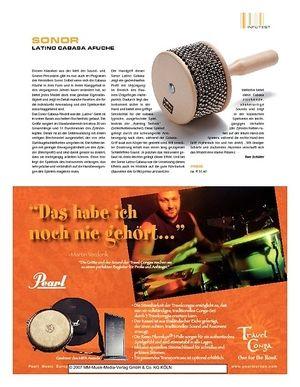 Sticks Sonor Latino Cabasa Afuche