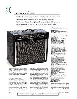 Gitarre & Bass Peavey TransTube Series Bandit 112, Gitarren-Combo