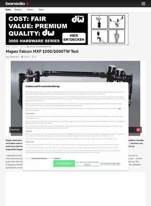 Bonedo.de Mapex Falcon MXP 1000 und MXP 1000TW