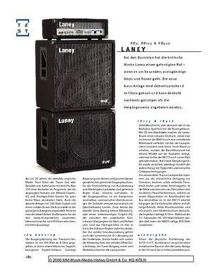 Gitarre & Bass Laney RB-Stack, Bass-Anlage