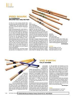 Sticks Vic Firth Tala Wands