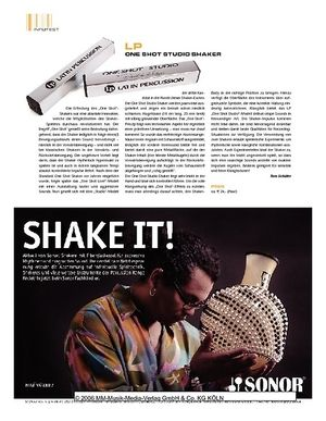 Sticks LP One Shot Studio Shaker