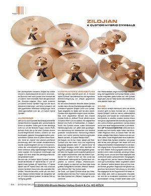 Sticks Zildjian K Custom Hybrid Cymbals