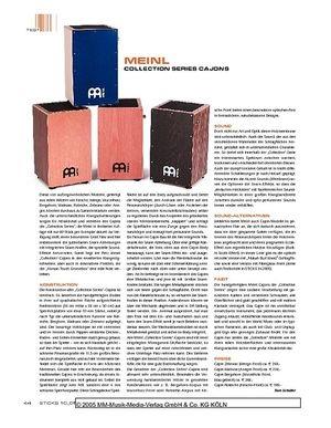 Sticks Meinl Collection Serie Cajons