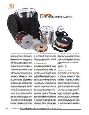 Sticks Meinl Samba Percussion Collection
