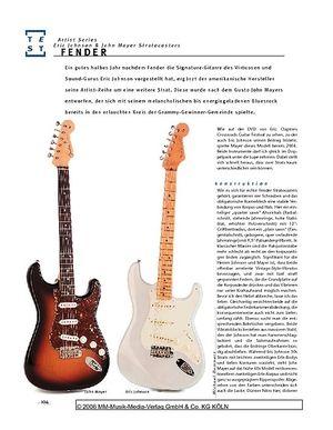 Gitarre & Bass Fender John Mayer & Eric Johnson Stratocasters, E-Gitarren