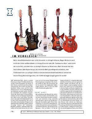 Gitarre & Bass 12-string E-Gitarren im Vergleich
