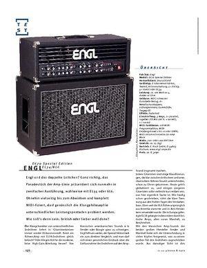 Gitarre & Bass Engl Special Edition E670, Gitarren-Amps