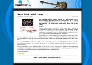 boss tu 3 thomann uk rh thomann de boss tuner tu-3 manual boss tu-3 manual español