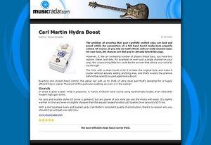 MusicRadar.com Carl Martin Hydra Boost