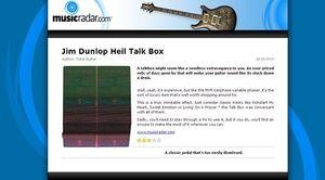 MusicRadar.com Jim Dunlop Heil Talk Box