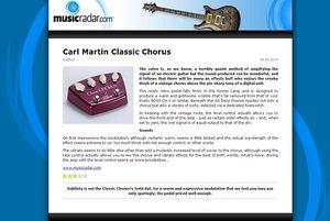 MusicRadar.com Carl Martin Classic Chorus