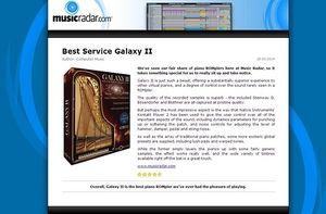 MusicRadar.com Best Service Galaxy II