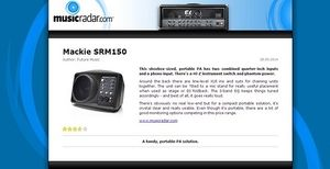 MusicRadar.com Mackie SRM150