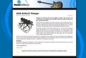 MusicRadar.com MXR EVH117 Flanger