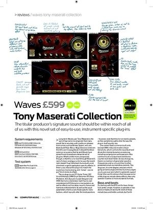 Computer Music Tony Maserati Collection