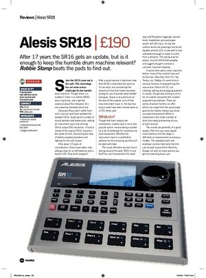 Future Music Alesis SR18