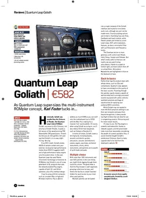 Future Music Quantum Leap Goliath