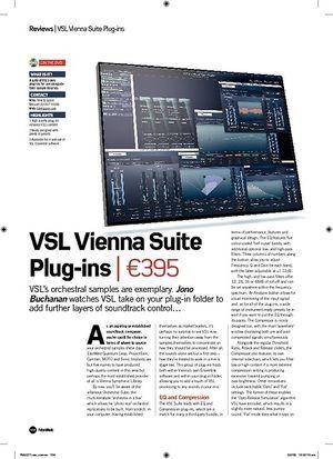 Future Music VSL Vienna Suite Plugins