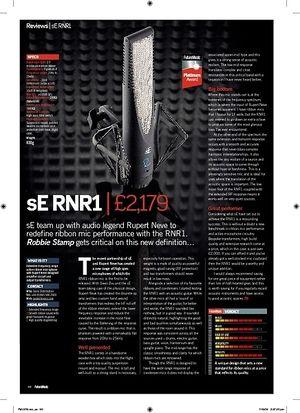 Future Music sE RNR1