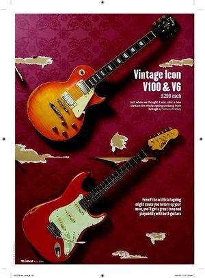 Guitarist Vintage Icon V6