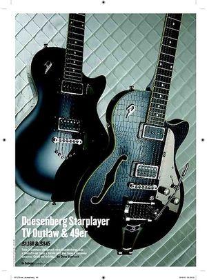 Guitarist Duesenberg 49er